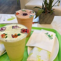 Photo taken at Juice Factory (Burj Baitak) by Abdulrahman on 5/28/2013