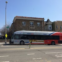 Photo taken at 52 53 54 Bus stop by Armie on 3/16/2016