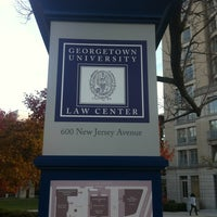 Photo taken at Georgetown University Law Center by Armie on 11/14/2012