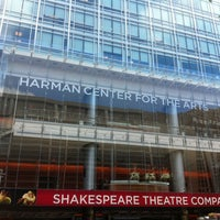 Foto scattata a Shakespeare Theatre Company - Harman Hall da Armie il 10/16/2012