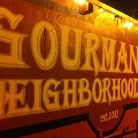 Photo taken at Gourmands Neighborhood Pub by Armie on 9/22/2012