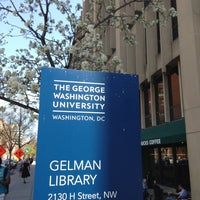 Photo taken at Estelle and Melvin Gelman Library by Armie on 4/10/2013