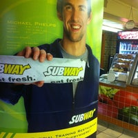 Photo taken at Subway by Armie on 1/8/2013