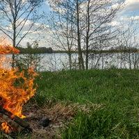 Photo taken at Sološnieku ezers by LoIita V. on 5/14/2017