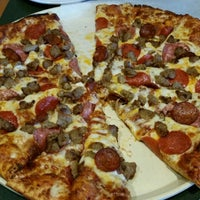 Photo taken at Round Table Pizza by Joseph R. on 6/15/2015