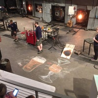 Photo taken at The Hot Shop at the Museum Of Glass by Robert A. on 3/26/2017