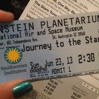 Photo taken at Albert Einstein Planetarium by Lauren D. on 6/23/2013