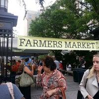 Photo taken at Foggy Bottom FRESHFARM Market by Jay M. on 8/7/2013