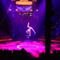 Photo taken at Big Apple Circus by Bob K. on 1/5/2013
