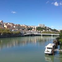 Photo taken at Pentes de la Croix Rousse by Mouss B. on 9/10/2013