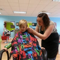 Photo taken at Pigtails & Crewcuts by Cassandra D. on 8/22/2013