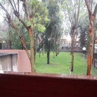 Photo taken at Facultad De Ciencias Quimicas by Antonela G. on 5/30/2014