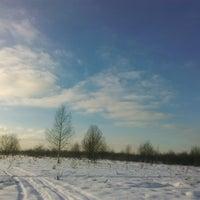 Photo taken at Симоново Озеро by Ilya V. on 2/9/2017