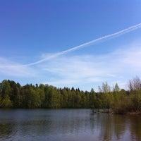 Photo taken at Симоново Озеро by Ilya V. on 5/8/2016