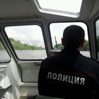 Photo taken at Шлюз № 9 канала имени Москвы by Edika L. on 7/24/2013