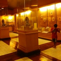 Photo taken at Suphan Buri National Museum by Mai T. on 8/3/2013