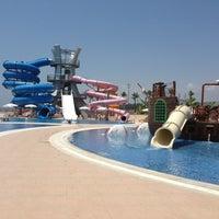 Photo taken at Denizpark Aquapark by Ebru E. on 7/21/2013