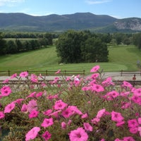 Photo taken at North Conway Country Club by Jay B. on 9/7/2013