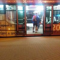 Photo taken at Anglické nábřeží (tram) by Kay on 8/13/2017