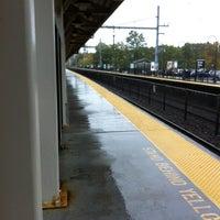 Photo taken at NJT - Aberdeen-Matawan Station (NJCL) by Chris R. on 10/19/2012