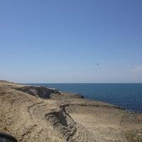 Photo taken at Pembe Kayalar by Merih G. on 7/21/2013