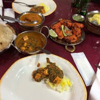 Photo taken at Calcutta Indian Cuisine by Matt F. on 2/20/2014
