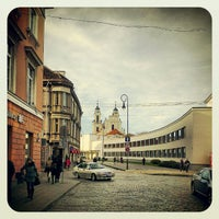 Photo taken at Vokiečių gatvė by Vadim S. on 10/17/2012