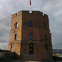 Photo taken at Gediminas' Tower of the Upper Castle by Vadim S. on 10/12/2012