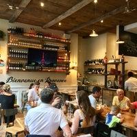 Photo taken at St Tropez Restaurant & Wine Bar by Rachel K. on 7/14/2018