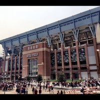 Photo taken at Kyle Field by Angel L. on 10/11/2014