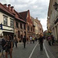 Photo taken at Vilnius by Deniz K. on 8/19/2013