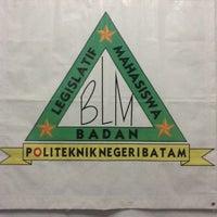 Photo taken at Politeknik Negri Batam (Badan Legislatif Mahasiswa) Ruang BLM by Muhammad I. on 9/19/2013