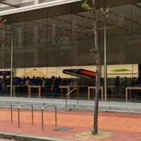 Photo taken at Apple Pioneer Place by Steve T. on 10/14/2014