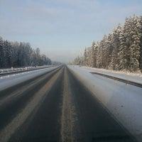 Photo taken at Трасса А-121 «Сортавала» by Димасик .. on 1/17/2014
