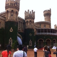 Photo taken at Bangalore Palace by Rithichai W. on 5/12/2013