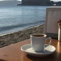 Photo taken at Artemis Beach by İlker Y. on 11/19/2016