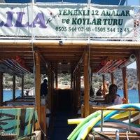 Photo taken at Göcek Lila Boat by Fatih K. on 7/14/2014