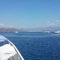 Photo taken at Göcek Lila Boat by Fatih K. on 9/14/2014