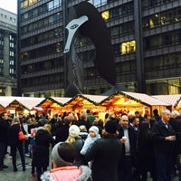 Photo taken at Christkindlmarket by Beata Y. on 11/22/2014