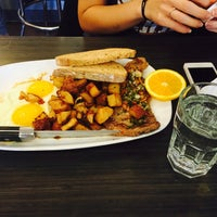 Photo taken at Chicago Waffles by Beata Y. on 10/26/2014