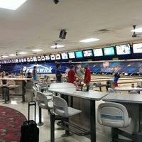 Photo taken at Brunswick Zone Thousand Oaks Bowl by David V. on 7/29/2013