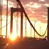 Photo taken at Delaware Memorial Bridge by Kathy H. on 8/24/2013