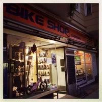Photo taken at Bike Shop Schöneberg by Tempus Fugit on 10/23/2013