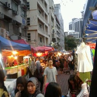 Photo taken at Pasar Malam Jalan Tuanku Abdul Rahman by Zaimi C. on 10/27/2012