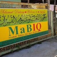 Photo taken at MABIQ Restaurant by Zaimi C. on 4/15/2013