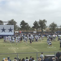 Photo taken at Dallas Cowboys Training Camp by Amy L. on 8/7/2016