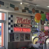 Photo taken at Mel's Diner by Amy L. on 4/30/2013
