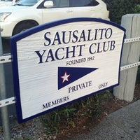 Photo taken at Sausalito Yacht Club by Amy L. on 5/3/2013