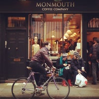 Photo taken at Monmouth Coffee Company by Leslie Q. on 4/7/2013