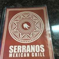 Photo taken at Serranos Mexican Grill by Jonathan D. Y. on 1/22/2017